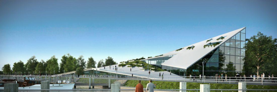 entwurf büro- und verwaltungsgebäude Berlin Treptow Ralph Manthey Architekten Ingenieure
