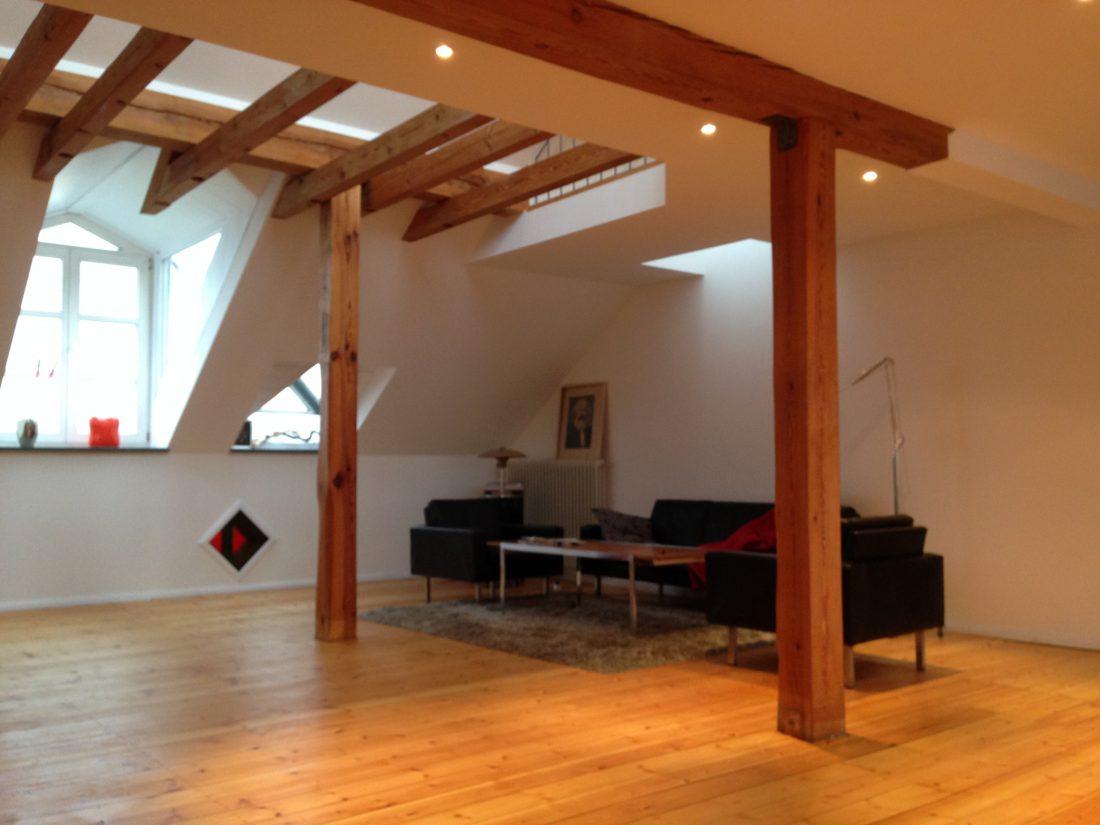 Ausbau Dachgeschoss Berlin Kreuzberg Penthouse Ralph Manthey Ingenieure Architekten