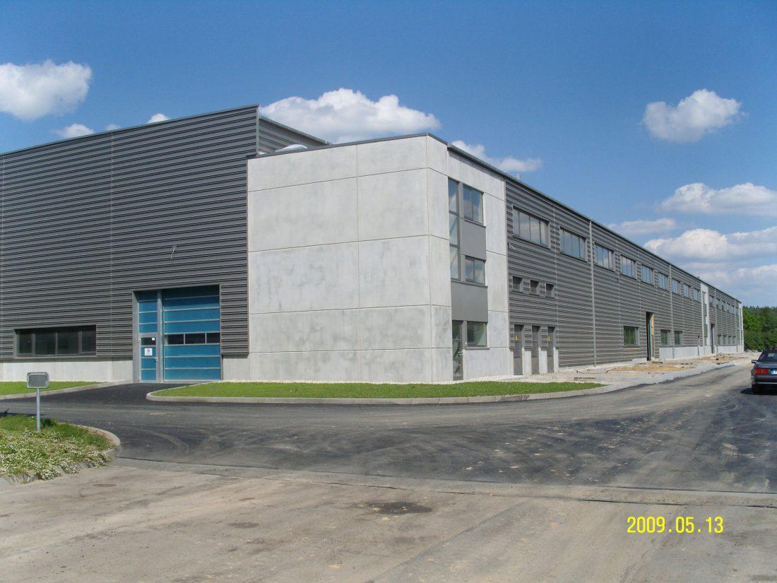 RIN Neubau Produktionshalle Ralph manthey Architekten Ingenieure Berlin